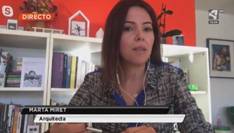 Entrevista en TV Marta Miret