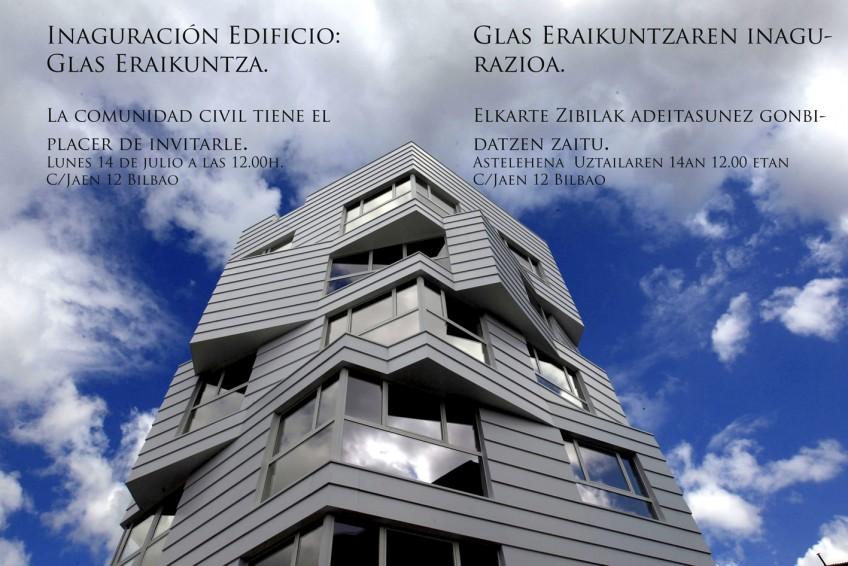 Inauguración de Glas Eraikuntza I