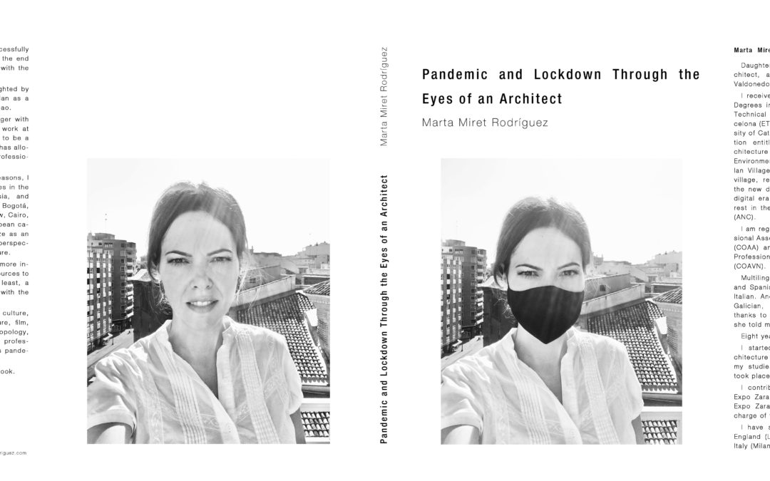 """New book launch  """"Pandemic and Lockdown Through the Eyes of an Architect"""""""
