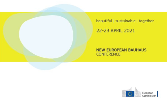 New European Bauhaus conference: 22-23 April. beautiful | sustainable | together
